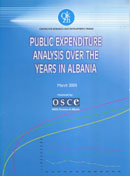 Public Expenditure Analysis